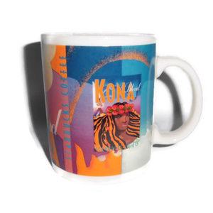 Starbucks Kona Coffe Mug City Hawaii 2001